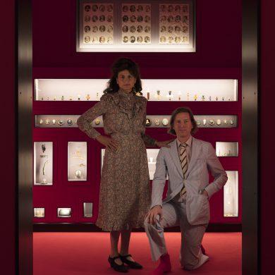wes anderson juman malouf fondazione prada exhibition